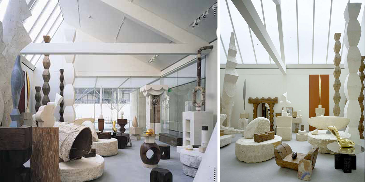 Renzo Piano Brancusi photos